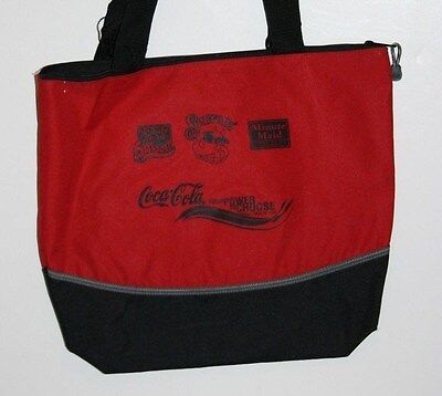 Tote Bag       Coca Cola  Minute Maid  Red & Black   Coke Advertising