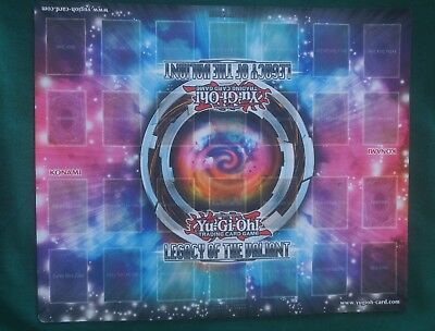 Yugioh 2 Player Playmat Blue & Pink Galaxy Design
