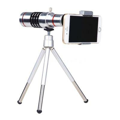 Universal 18x Zoom Phone telephoto camera lens with mini tripod for Phones X3J6