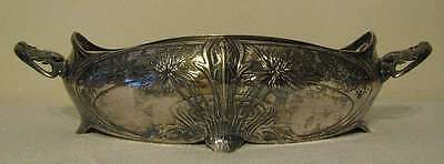 ANTIQUE CHRISTOFLE GALLIA METAL SP ART NOUVEAU CENTERPIECE / SP LINER circa 1900