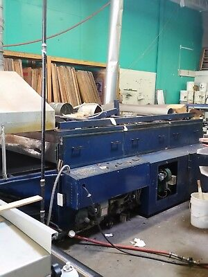 Conveyor Dryer M&R ELIM 60 208/220Volts 40Amps  50/60Cycle