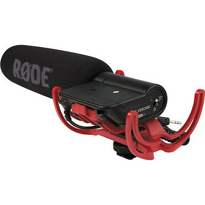 Rode VideoMic Microphone with Rycote Lyre Suspension System ( Black )