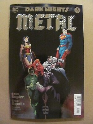Dark Nights Metal #1 DC Comic 2017 Series Foil Cover 1st Print 9.6 Near Mint+