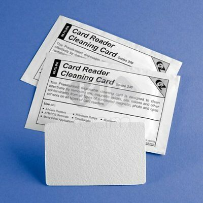 Check Scanner Cleaning Card 25 Cards