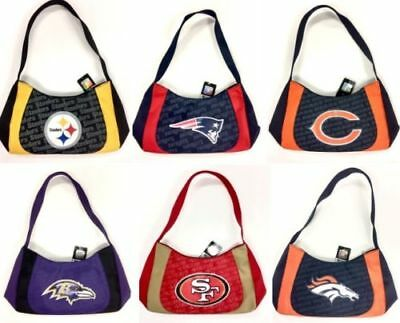 Nfl Team Logo Swag Style Women's Handbad Purse Bag 2 Tone Assorted Teams