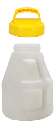Oil Safe Container Drum for Oil 10 Litre With Lid Yellow, On Site Storage Drum