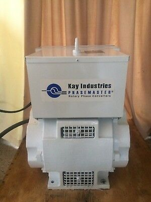 Kay Industries Phasemaster Rotary Phase Converter