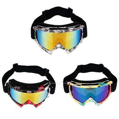 1pc Anti-fog Professional Motocross Goggles Dirt Bike ATV Motorcycle Ski Glasses