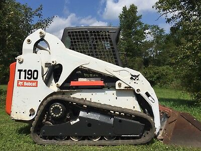 2011 Bobcat T190 Compact Track Skid Loader Kubota Diesel Cheap Shipping Rates