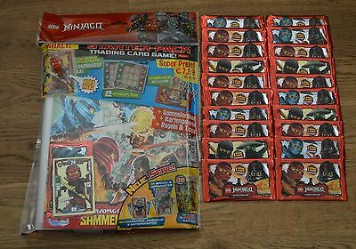 Lego Ninjago™ Series 2 Trading Card Game 20 Booster + Starterpack New & OVP