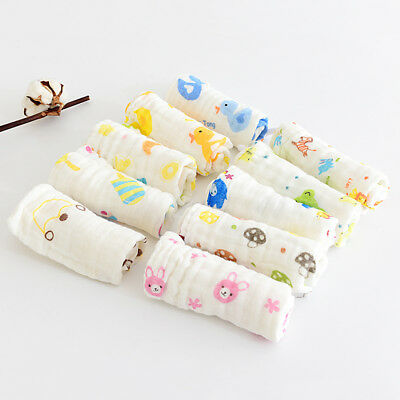 Cute Baby Boy Girl Infant Toddler Triangle Feeding Bibs Saliva Towel Burp Cloths