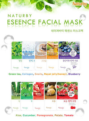Nature by New Essence Face Mask Pack 16Types Skin Care Made in Korea Cosmetic
