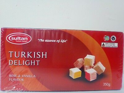 Turkish Delight Rose 350g  Gift  Box