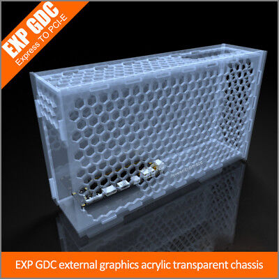 Notebook External Graphics Card Beehive Case Laptop EXP GDC Protective Chassis