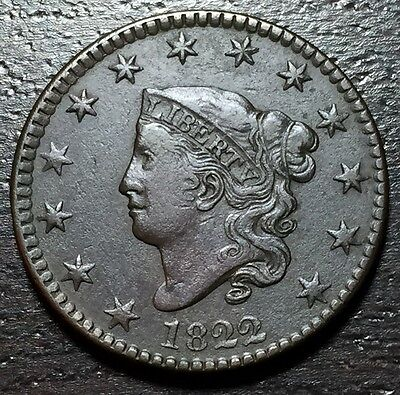 1822 Coronet Head Large Cent --  MAKE US AN OFFER!  #W4096 ZXCV