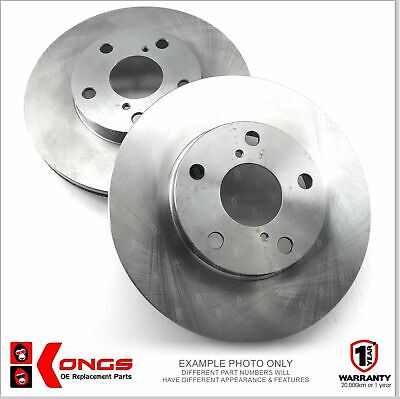 Pair of Front Disc Brake Rotors for HOLDEN CREWMAN CROSS 6, 8 VY VZ Ø302mm