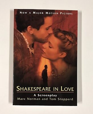 Shakespeare In Love A Screenplay SIGNED by Marc Norman & Tom Stoppard w/ PROOF