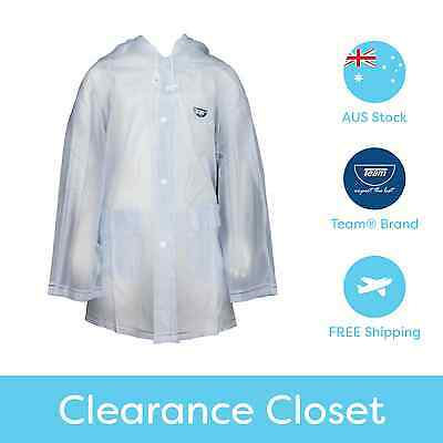 Team® Girls Boys Kids School Clear Rain Rain Jacket/Raincoat - Quality Design