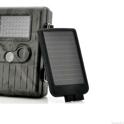 Hunting Trail Game Camera Rechargeable Solar Funcion Panel Battery Charger Pack