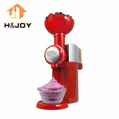 Automatic Frozen Fruit Dessert Machine Fruit Ice Cream Maker Milkshake