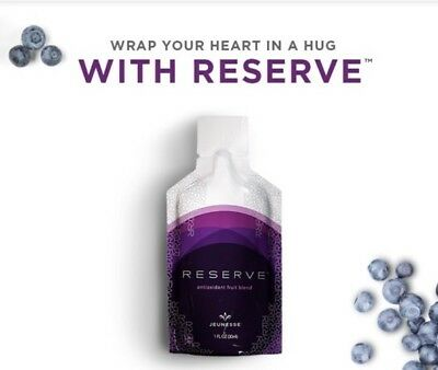 Authentic Jeunesse Reserve by Jeunesseglobal 6 boxes - Free Gift Luminesce Serum