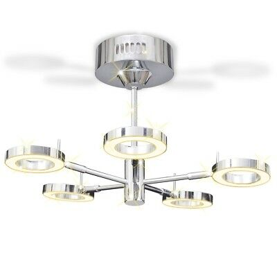 5 x 4 W LED Ceiling Down Lamp with 5 Round Lights Kitchen Bathroom Bedroom