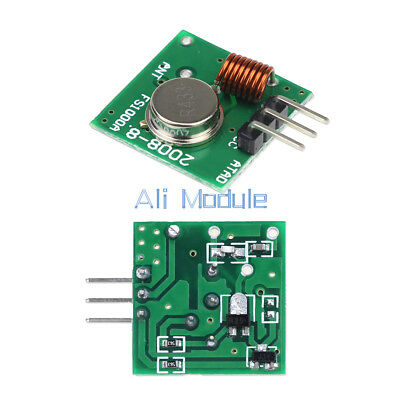 20PCS 433Mhz RF transmitter and receiver link kit for Arduino/ARM/MC​U Remote