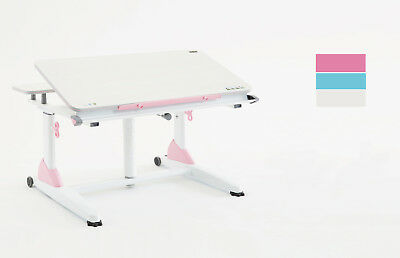 New Kids Youth Study Desk Ergonomics Height Adjustabe Pink Blue Kid2youth G2-XS