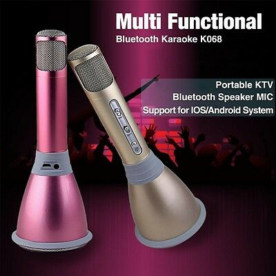 K068 Compact Wireless Bluetooth Plug And Play Microphone For Voice Recording AU