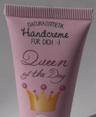 e.w 9,83€/100ml Queen of the Day Handcreme für Dich Creme Sheabutter La Vida
