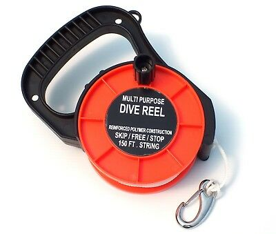 WILCOMP Scuba Diving Dive Reel with Handle WIL-DR-01O
