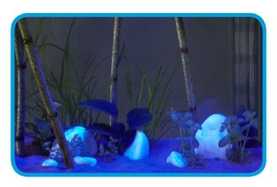 Askoll Stick Moon Light Blu Decorazione Led Sommergibile Acquario Dolce Marino