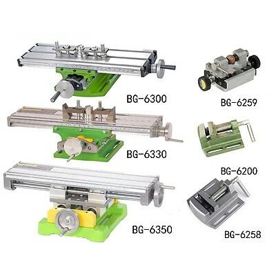 Mini Cross Worktable Milling Working Sliding Table X Y Axis Bench Drill Machine