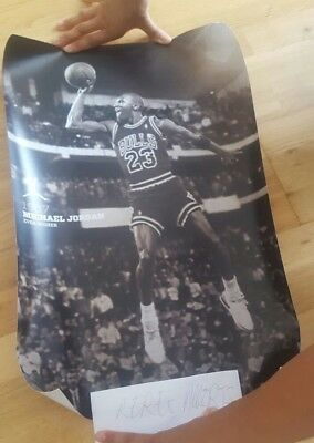Michael Jordan Poster Basketball Collectors Memorabilia