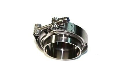 Stainless Steel V-Band Clamp Including Flanges Complete  Engine Exhaust Turbo