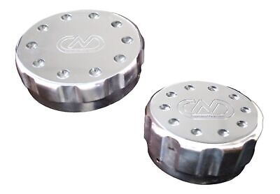 ALLOY OIL AND COOLANT CAPS VW Golf Audi TT A3 S3 A4 Q5 Q7 SEAT SKODA