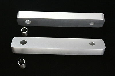 BMW E30 M5 E39 20mm Lowering Front V8 S62 engine spacer conversion plates AL81