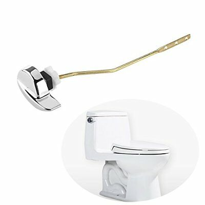 Foxnovo Angle Fitting Side Mount Toilet Lever Handle for TOTO Kohler Toilet Tank