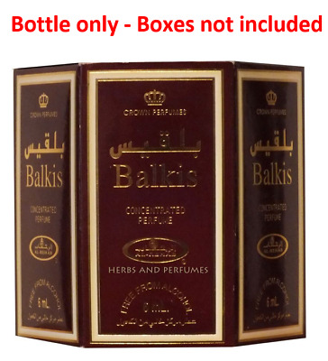 Genuine Al Rehab Balkis 6 x 6ml Oil Perfume Fragrance Roll On Alcohol Free Halal