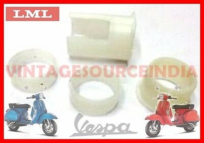Vespa Throttle & Gear Tube Bush Set Px Lml Star Stella Scooters @aus