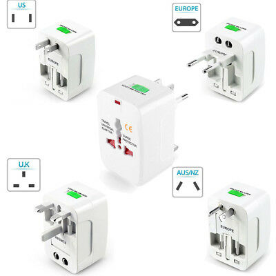 Portable ALL In One Universal International Travel Adapter Plug UK EU AU US