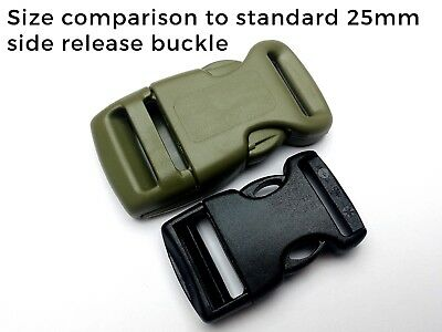 25mm Side release buckles clips. ITW FASTEX NEXUS HEAVY DUTY HIGH QUALITY