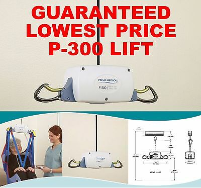 NEW P-300 Portable Patient Lift Compare To Voyager Hoyer Invacare Drive Medline