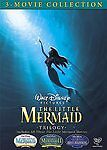 Little Mermaid Trilogy Gift Set (DVD, 2008) SEALED, BRAND NEW, OUT OF PRINT.
