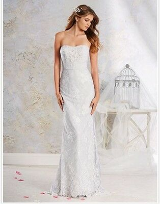 Alfred Angelo 8540 Wedding Dress Ivory Size 10 - Ex Sample - Good Condition.