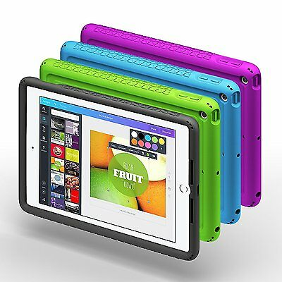 For New Apple iPad 9.7 2017 Case Poetic【Turtle】Heavy Duty Rugged Shockproof