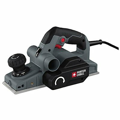 Porter-Cable Hand Held Planer, Depth Knob Chamfering Edge, Dual Side Extraction