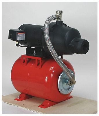 """DAYTON 1/2 HP Shallow Well Jet Pump, 10/4.8 Amps, 1-1/4"""" NPT Inlet - 4HEZ9"""