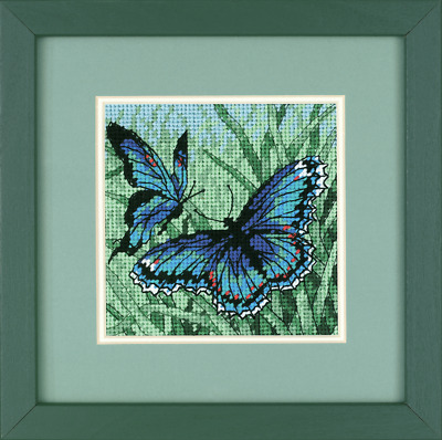 Dimensions -Mini - Needlepoint Kit - Butterfly Duo - D07183