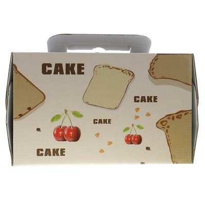 Lot of 10pcs Paper Cherry Portable Baking Food Cake Boxes Gifts Favors